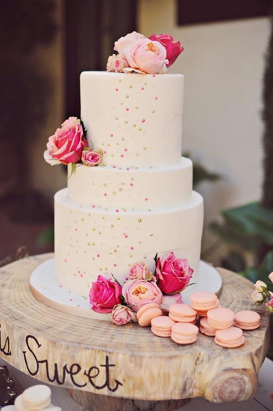 Love Is Sweet Wedding Cake
