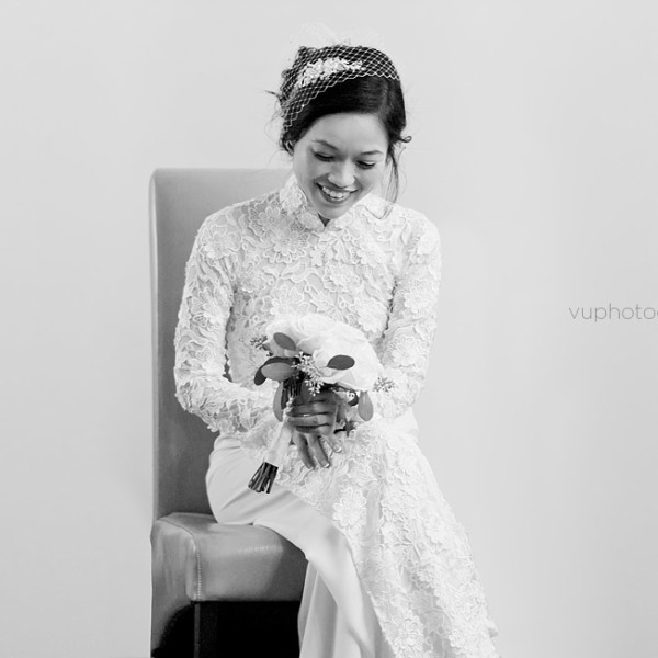 Wedding Photographer Fountain Valley - Tam and Thien's Traditional Vietnamese Wedding