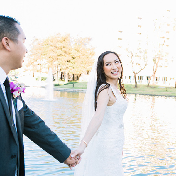 Kevin + Katrina : Avenue of the Arts Wyndham Hotel Wedding
