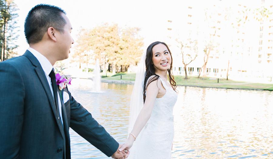 Kevin + Katrina : Avenue of the Arts Wyndham Hotel Wedding