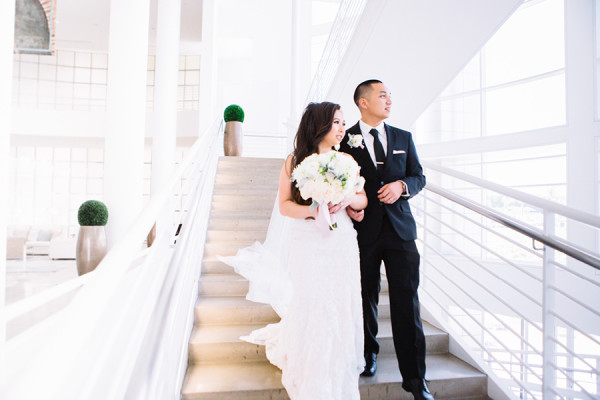 Michelle + Anthony : Chapel in the Sky and the Villa Wedding